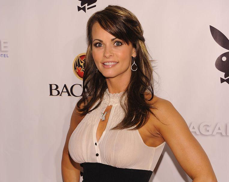 Ex-playmate Karen McDougal.