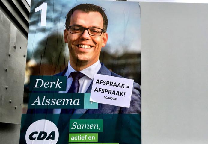verkiezingsposter CDA Goes