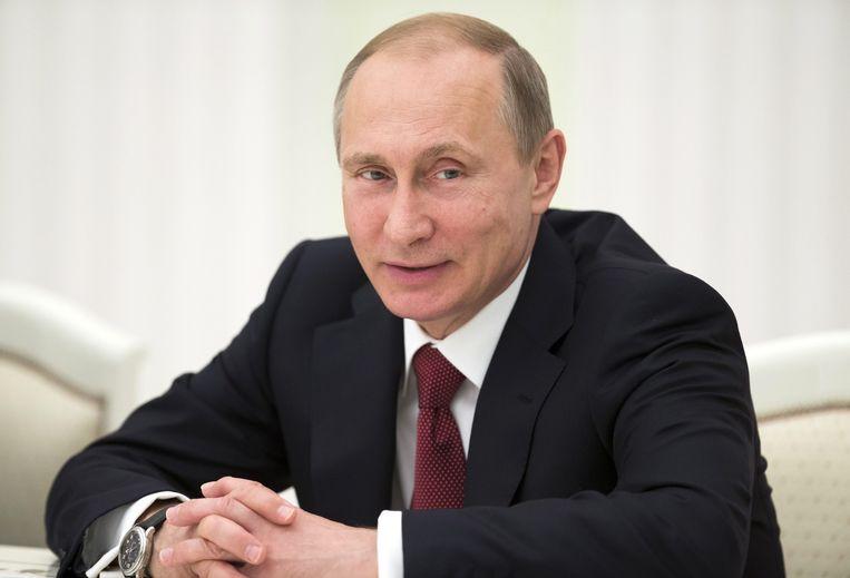 Volgens president Poetin voert Rusland geen agressief beleid, maar reageert het op bestaande dreigingen.