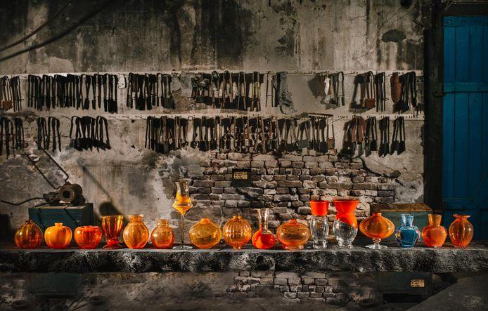 Royal Leerdam Crystal was jaren verantwoordelijk voor de productie van Oranjevaasjes.