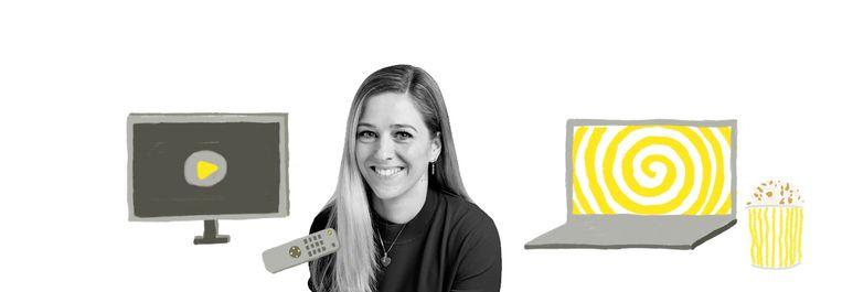 Emma Curvers tv column Beeld De Volkskrant