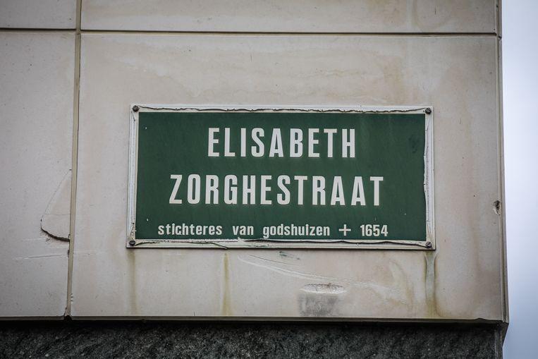 De Elisabeth Zorghestraat in het centrum van de stad.