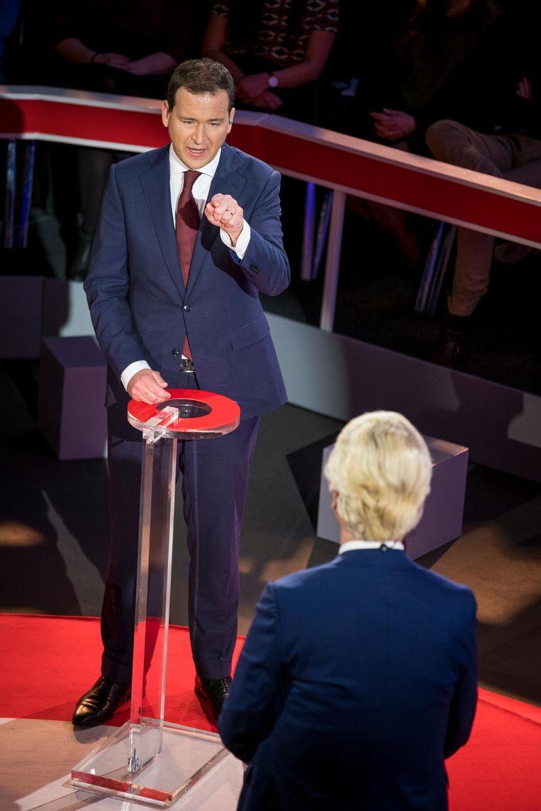 Asscher versus Wilders Beeld ANP