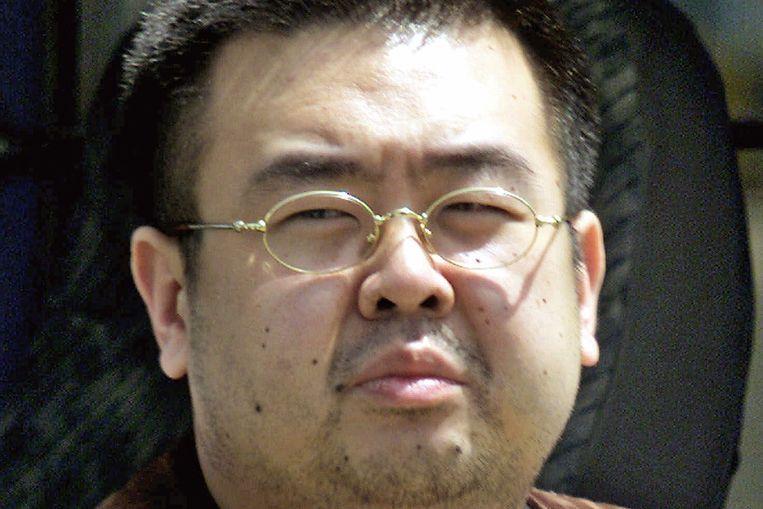 Kim Jong-nam in 2001 in Japan. De halfbroer van de Noord-Koreaanse leider Kim Jong-un zou informant voor de CIA zijn geweest.