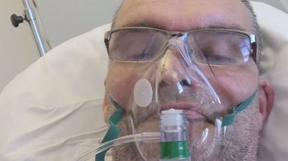 """Coronapatiënt Kurt (52) mag ziekenhuis eerstdaags verlaten: """"Schrik gehad maar hoop nooit opgegeven"""""""