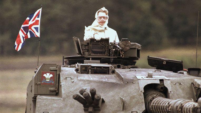 Margret Thatcher. Beeld ap