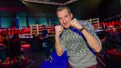 De voorbereiding voor 'Boxing Stars' loopt niet zo vlot bij Andy Peelman