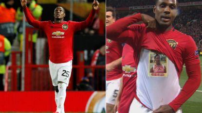 """Het tragische verhaal achter de viering van United-spits Odion Ighalo tegen Club Brugge: """"Als ik alleen ben, ween ik om haar verlies"""""""