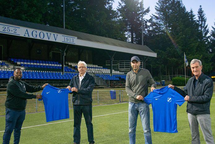 De delegaties van Futsal Apeldoorn en AGOVV zijn het met elkaar eens, ze spelen komend seizoen onder de vlag van de voormalige profclub.