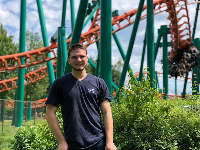 Joey Schadenberg bij de Condor.