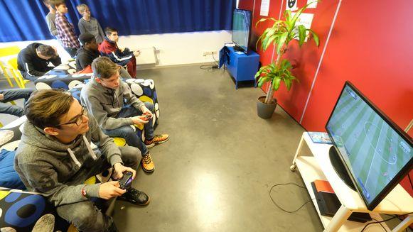 Opperste concentratie bij de spelers
