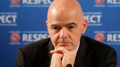 FIFA-voorzitter Infantino denkt aan 'mini-WK' met acht landen