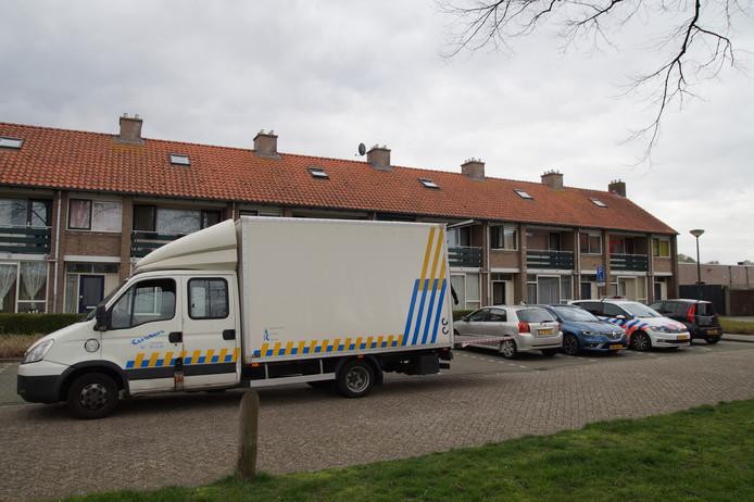 In maart werd een hennepkwekerij ontdekt in de woning aan het Prins Mauritsplein in Kaatsheuvel.