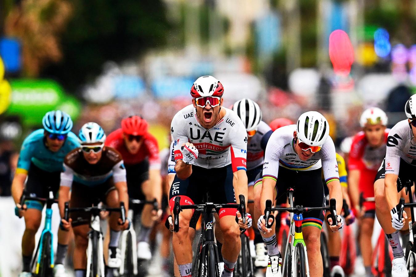 Kristoff boekte zijn vierde zege in zijn Tour-carrière