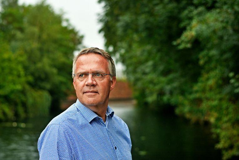 Bart Groeneweg, bestuurslid van de Depressievereniging. Beeld Guus Dubbelman / de Volkskrant