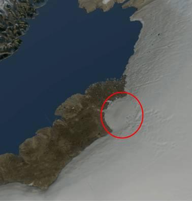 Meteoriet met kracht van miljoenen atoombommen stortte 'kort geleden' op aarde