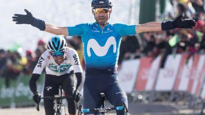 Valverde etaleert hoogvorm in Catalonië, De Gendt leider af