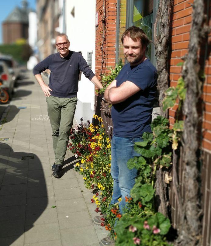 Peter van Dam en Kenny Herck van Groen.