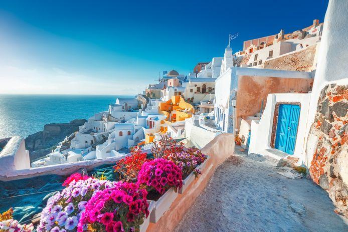 Santorini, Griekenland.