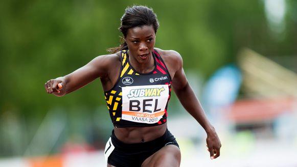 Bij de vrouwen leverde Anne Zagré met een derde plaats op de 100m horden de beste prestatie.