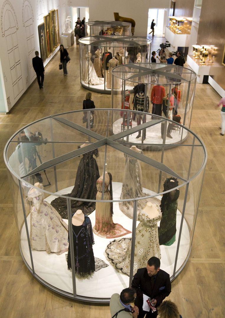 Donderdag mochten genodigden de tentoonstelling al bekijken. Foto ANP Beeld