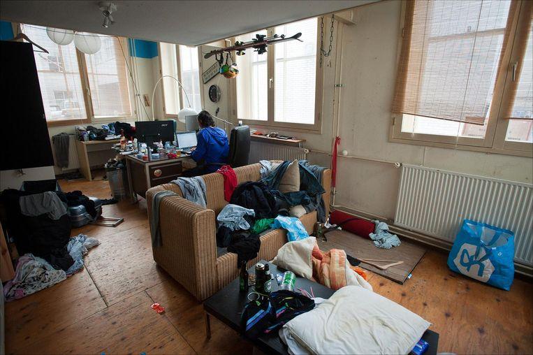 Als je de kamer eenmaal hebt, hoef je nooit meer op te ruimen. Beeld ANP
