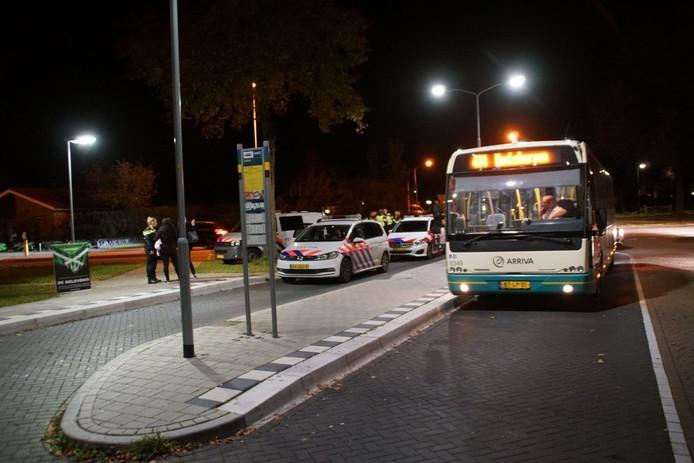 De politie heeft de twee mannen uiteindelijk aangehouden.