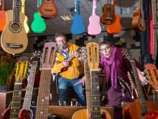Van Epe richting Boerengat en Schapenbout; geen probleem vindt Werners Rare Music Shop