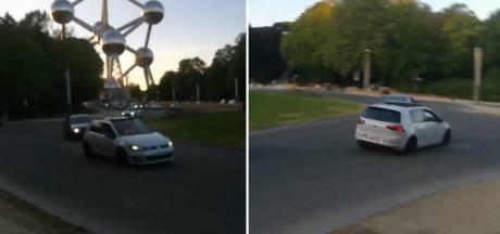 Rodéos sauvages au Heysel: cinq conducteurs arrêtés