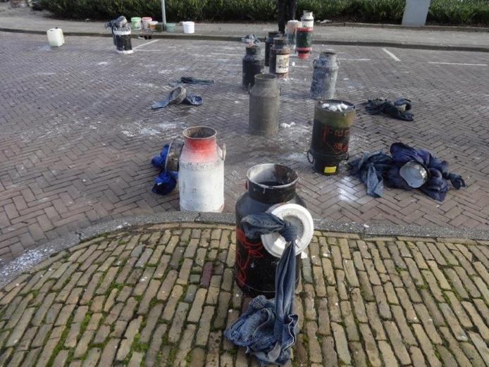 Melkbus schieten Lezersfoto Erna van Heerde