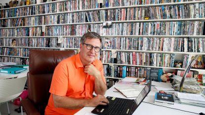"""Jan Verheyen over zijn immense dvd-verzameling: """"Ik hou wel van foute films, maar porno heeft me nooit geïnteresseerd"""""""
