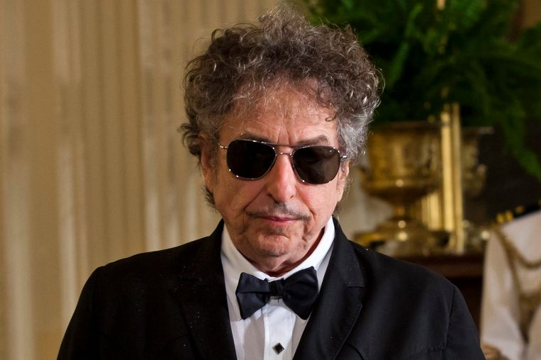 Bob Dylan in 2012. Beeld EPA