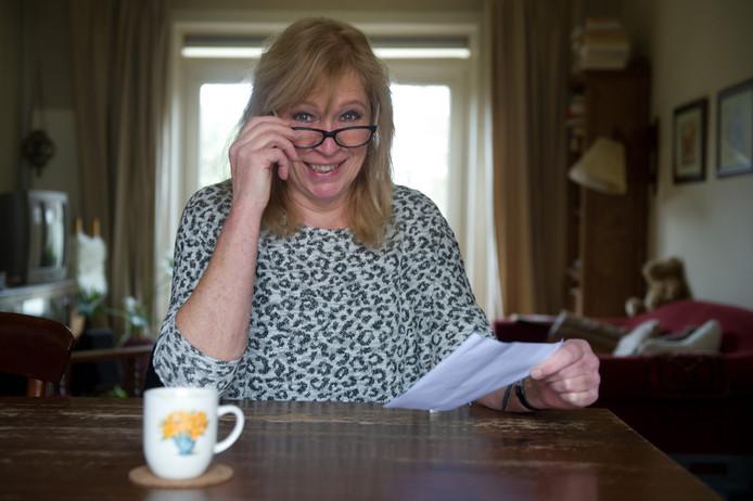 Riet Rensen kreeg 15 jaar lang brieven van ING.