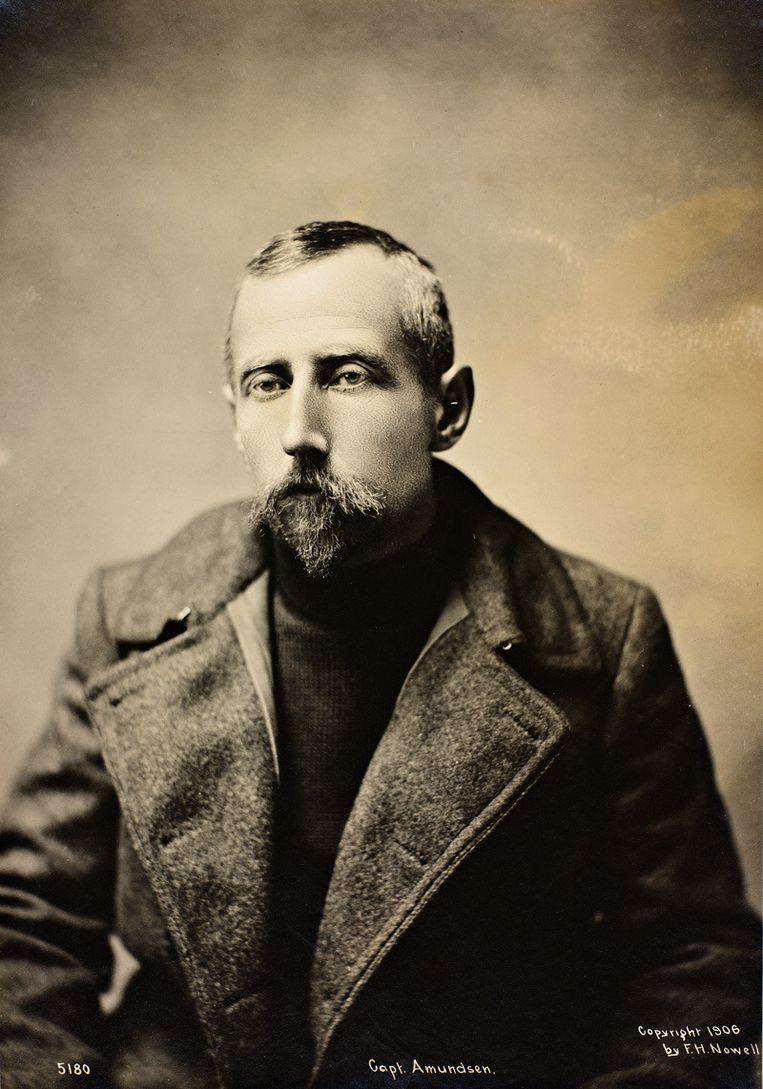 Roald Amundsen. Beeld National Library of Norway