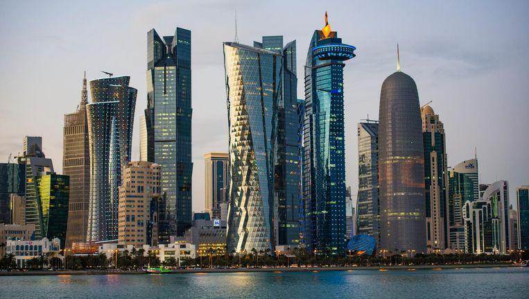 Doha, de hoofdstad van Qatar