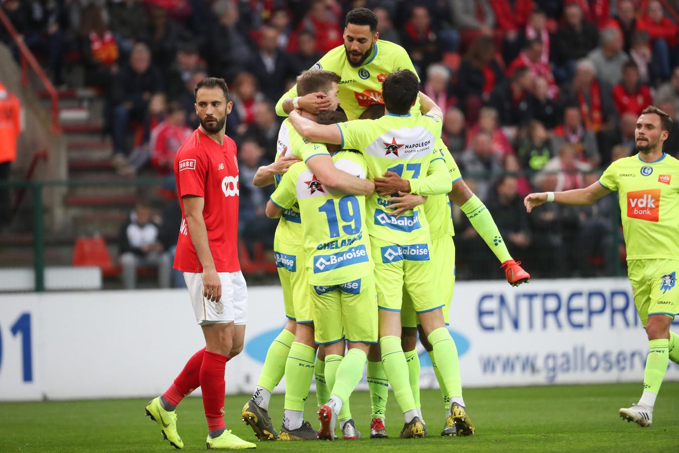Brecht Dejaegere avait pourtant donné l'avantage aux Gantois dès la douzième minute de jeu.