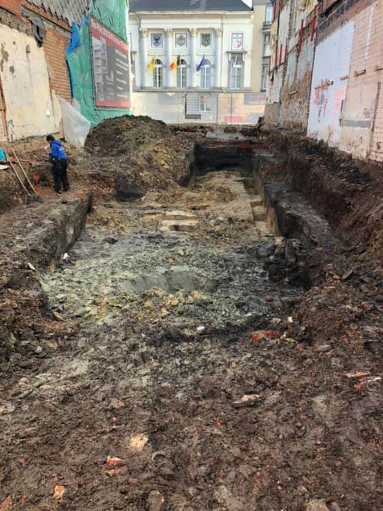 Het archeologisch onderzoek werd ondertussen afgerond.