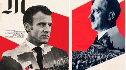 Vergelijkt Franse krant Macron met Hitler? Le Monde verontschuldigt zich voor ongewilde overeenkomst