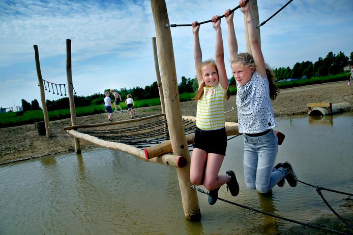 Speelplaats Het Heerjanneke werd gisteren enthousiast in gebruik genomen.