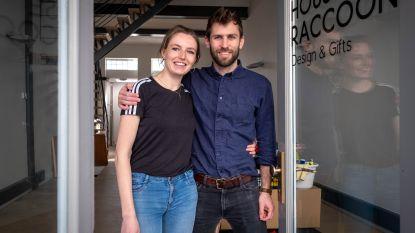 """'Doldwaas' ontwerperskoppel opent interieurdecoratiezaak House Raccoon: """"We produceren nog écht in België"""""""