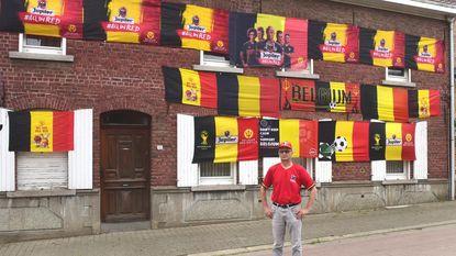 Rode Duivels-superfan woont in Edingsesteenweg
