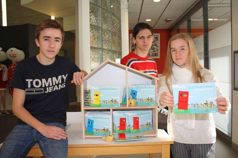 Jongeren Ontwerpen Kleurplaten En Zamelen Zo Geld In Bredene