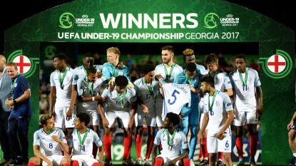 Engeland klopt Portugal in finale EK voetbal U19