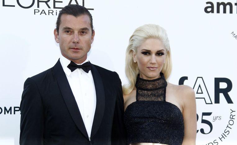 Gavin Rosdale en Gwen Stefani. Beeld null
