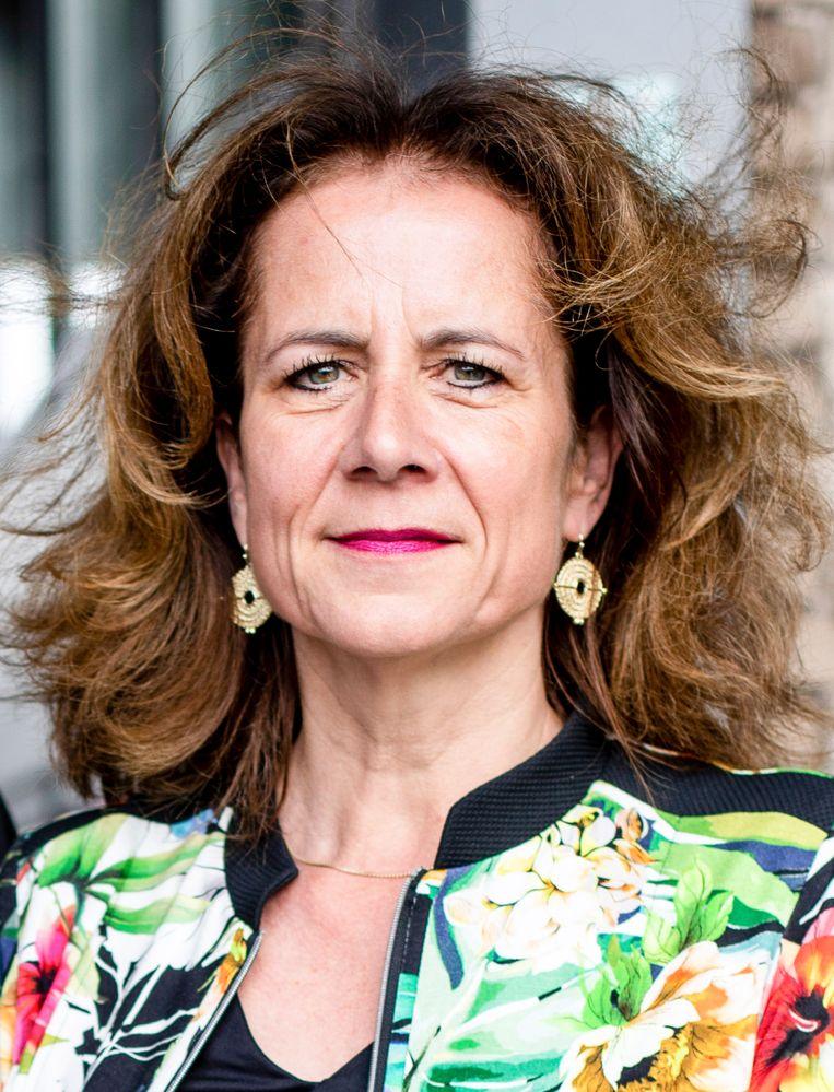 Nina Tellegen, directeur Amsterdam Economic Board.   Beeld Lin Woldendorp