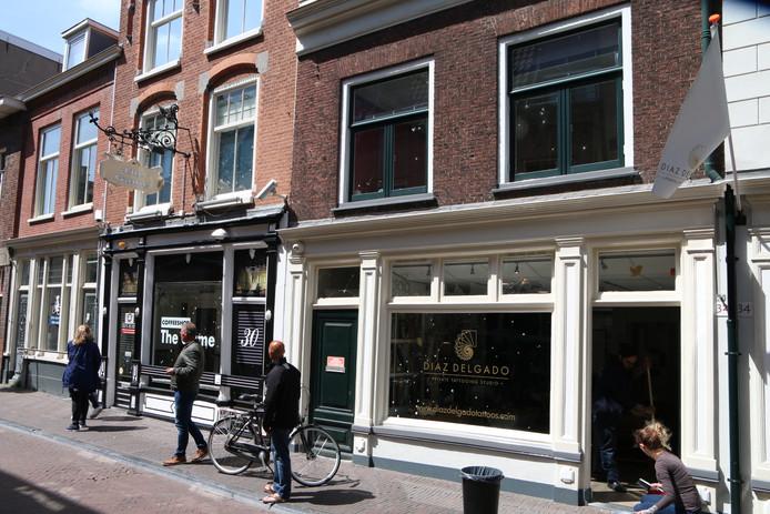Gaten in Delft na explosie