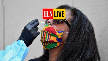 HLN LIVE. Aantal besmettingen daalt licht
