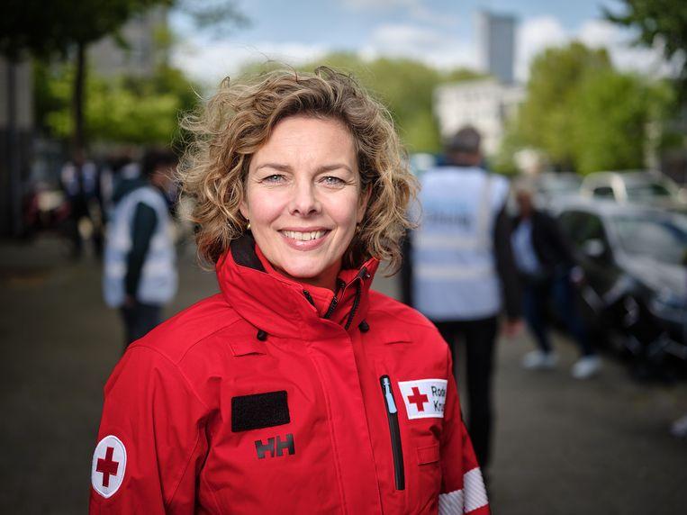Marieke van Schaik, directeur Rode Kruis. Beeld Rode Kruis