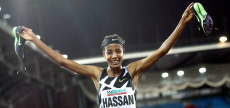 Sifan Hassan wint 5000 meter in Ostrava
