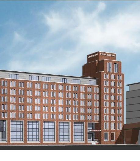 Nog geen akkoord over bouw nieuw hotel in Paleiskwartier Den Bosch